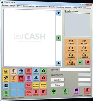 myCash - die individuelle Registrierkasse zum günstigen Preis!